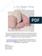124 Button Up Diaper Cover Pattern PDF