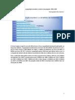 Estimativa da população mundial e cenários de projeção