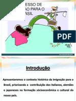 _O Processo de Imigração Para o Brasil