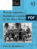 British Infantry Battalion Commanders in the First World War - 1472438256
