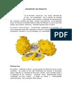 Descripción Del Producto Pitahaya