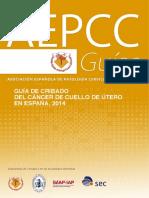 Aepcc Cribado Cancer de Cuello uterino