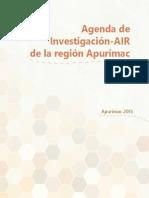 Agenda de Invetigación_Apurímac