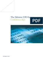 Deloitte CFO Survey 2010Q2