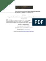 Simposio Apropiación de Recursos Naturales y Conflictos Sociales