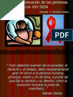 La No Discriminación de Las Personas Con VIH