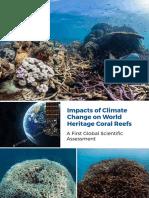 Unesco_Impact du réchauffement climatique sur les récifs coralliens