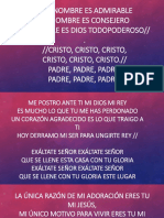 letra de canciones cristianas en power point