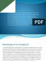 Metodología de La Investigación1