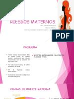 RIESGOS MATERNOS