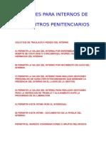 01 - TRAMITES PARA INTERNOS DE LOS CENTROS PENITENCIARIOS.doc