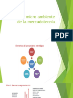 Macro y Micro Ambiente de La Mercadotecnia