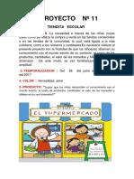 Proyecto Nº 12 La Tiendita Escolar 2015(
