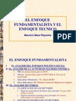 Enfoques Fundamentlista y Técnico