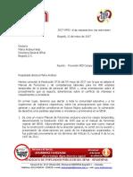 2017-0492 CARTA A LA DIRECTORA GENERAL DEL SENA - PROVISIÓN 800 CARGOS TEMPORALES (1)