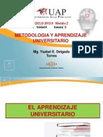 Ayuda 3 - El Aprendizaje Universitario