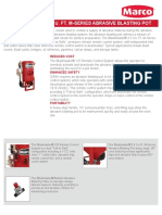 Blastmaster 3.5 Cu Ft M-Series Abrasive Blasting Pot - FNS Guide