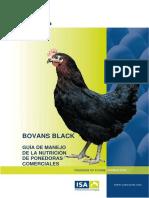 Guia de Manejo de La Nutricion Bovans Black