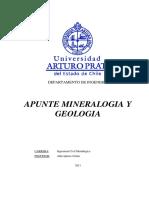 Apunte Mineralogia y Geologia
