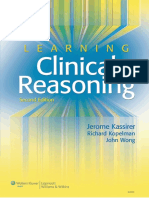 Learning Clinical Reasoning 2nd Edition-Kassirer
