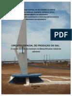 CARACTERIZAÇÃO DO SISTEMA ARTESANAL DE PRODUÇÃO DE SAL NO LITORAL SETENTRIONAL DO RIO GRANDE DO NORTE