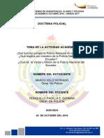 Ejemplo Ensayo Policia Nacional Ecuador