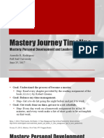 Aneudis Rodriguez Mastery Journey