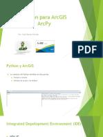 Python Para ArcGIS