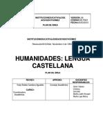 Área Lengua Castellana 2015