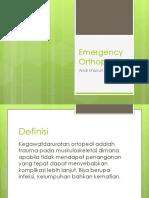 Emergency Orthopedic