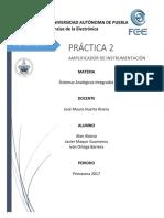 práctica-2 Analogicos