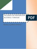 Talleres de Prevención Alcohol y Drogas