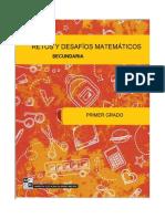 retos y desafíos matemáticos 1° sec
