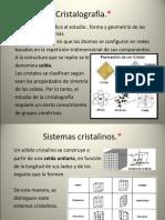 Cristalografía (1)