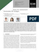 Eurocode Assessment for Bridges