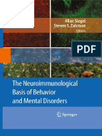The Neuroinmunological Basis of Behavior and Mental Disorders
