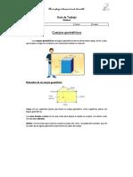 Guia de Trabajo - Volumen de Cuerpos Geometricos 8º