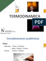 Clase 1. Introduccion a La Termodinámica1