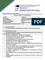 Informe Tecnico 006 Cat 115