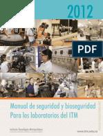 2 Manual de Seguridad y Bioseguridad Para Los Laboratorios Del ITM