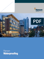 Hanson Waterproofing Brochure
