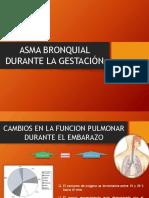 Asma Bronquial Durante La Gestacion