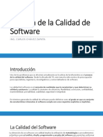 Gestion de La Calidad de Software