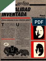 Watzlawick Paul - La Realidad Inventada (Scan)
