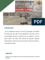 Licencias Permisos en La Actividad Minera