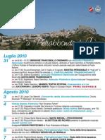 pietrabbondante 2010-Il programma generale degli eventi dell'estate