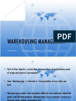 WAREHOUSING MANAGEMENT final_copy.ppt