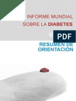 Informe Mundial Sobre Diabetes 2