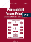 Pharmaceutical Process Validation 3rd (Int'l) Ed - R. Nash, A.wachter (Marcel Dekker, 2003) WW