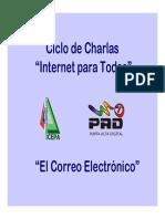 Ciclo de Charlas - Correo Electronico